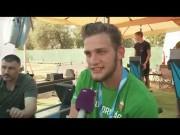 Kiss Tamás parakajakos világbajnok KayakFirst ergóval készült